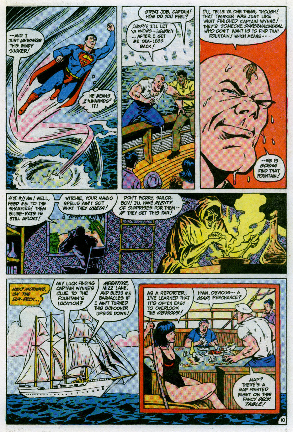 Read online Action Comics (1938) comic -  Issue #566 - 11