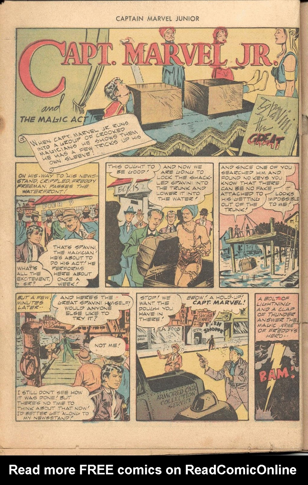 Captain Marvel, Jr. issue 38 - Page 23