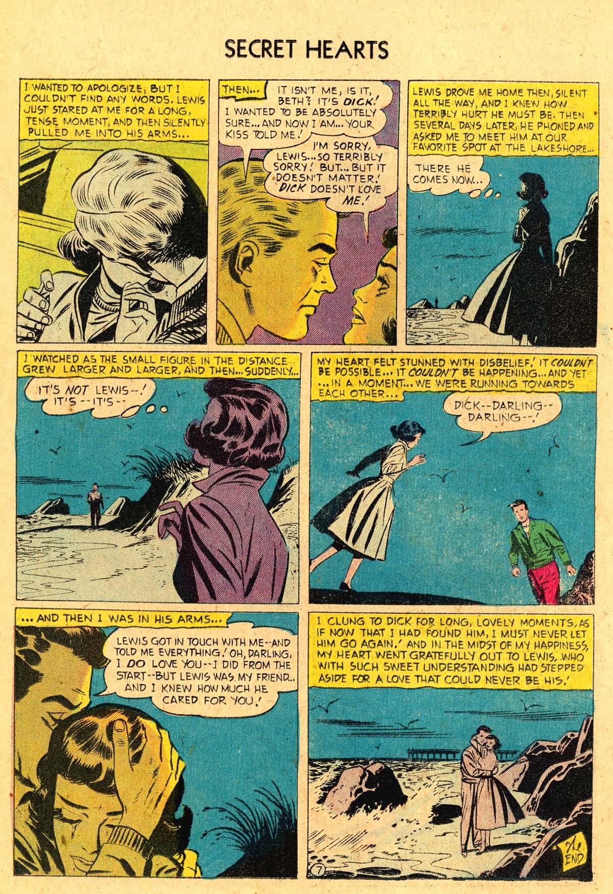 Read online Secret Hearts comic -  Issue #36 - 18