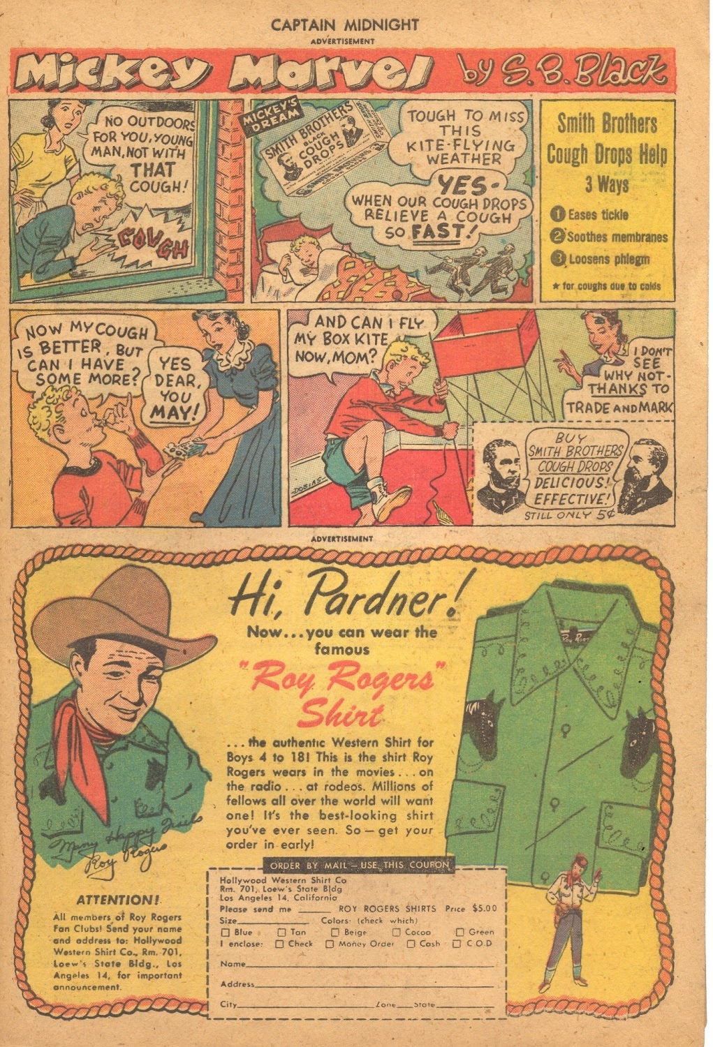 Captain Midnight (1942) issue 61 - Page 33