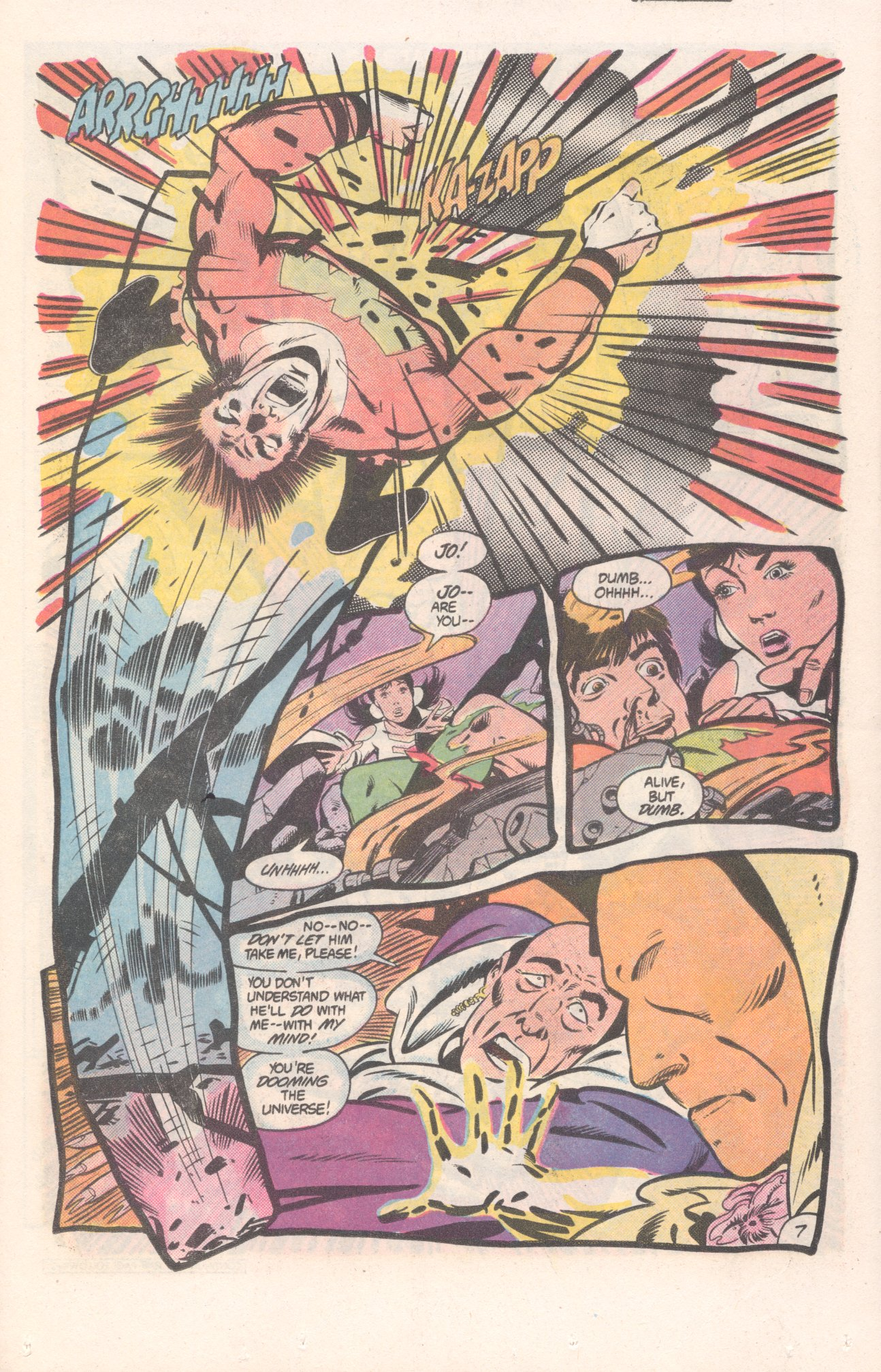Legion of Super-Heroes (1980) 310 Page 7