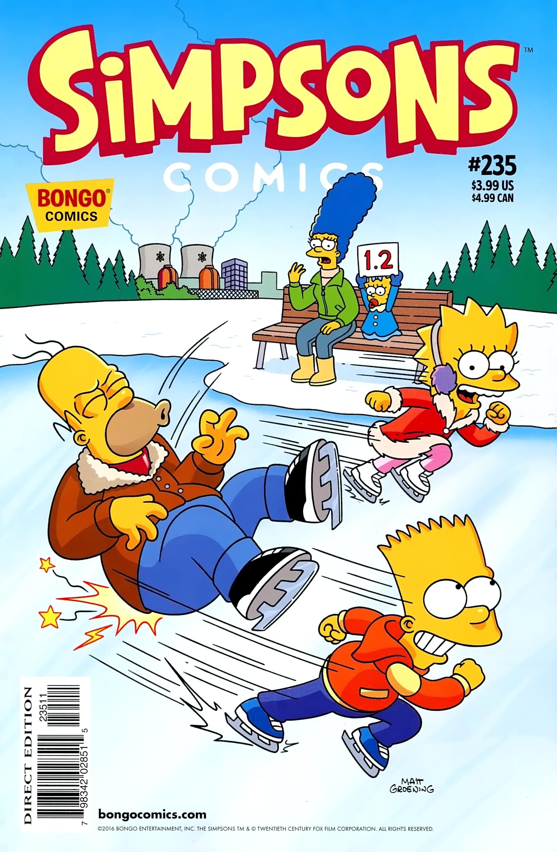 Simpsons Comics 235 Page 1