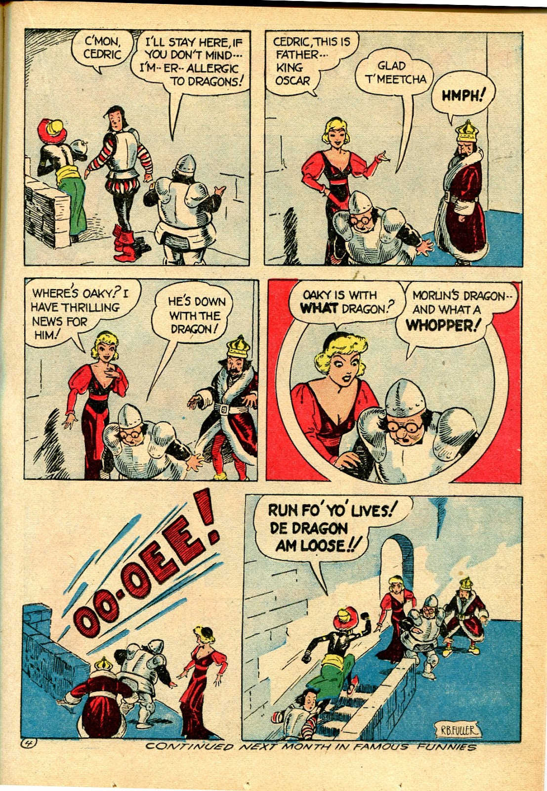 Read online Famous Funnies comic -  Issue #111 - 27