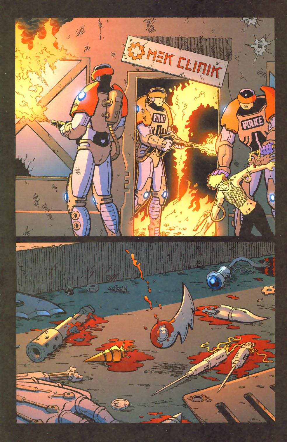 Read online Mek comic -  Issue #3 - 22