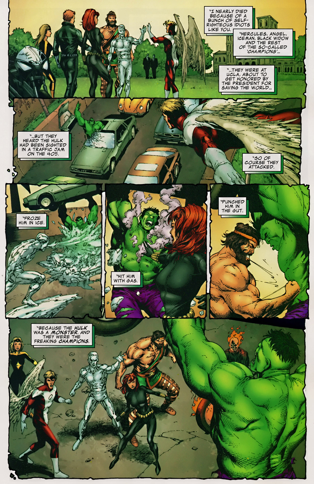 Read online The Incredible Hulk (2000) comic -  Issue #106 - 11
