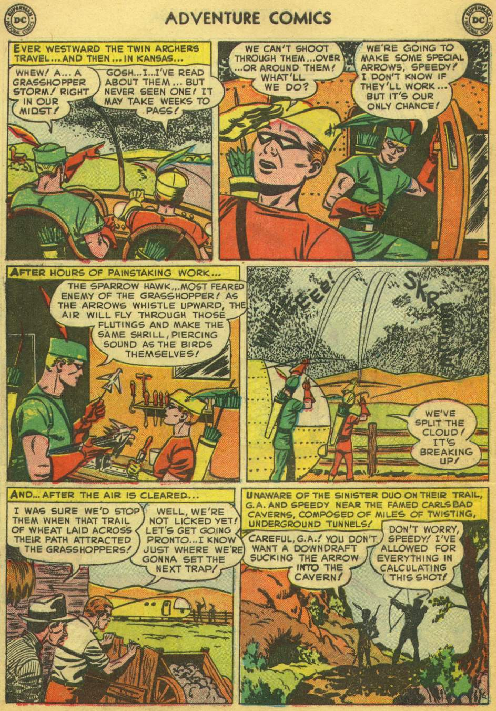 Read online Adventure Comics (1938) comic -  Issue #168 - 40