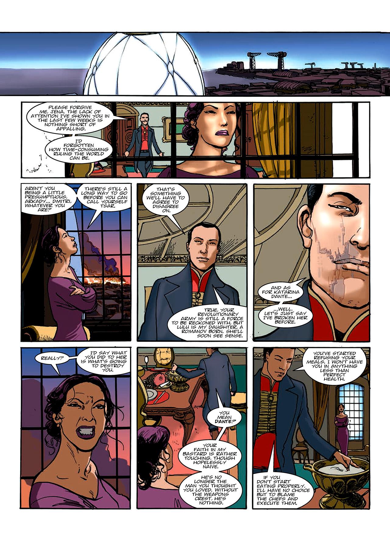 Read online Nikolai Dante comic -  Issue # TPB 10 - 139