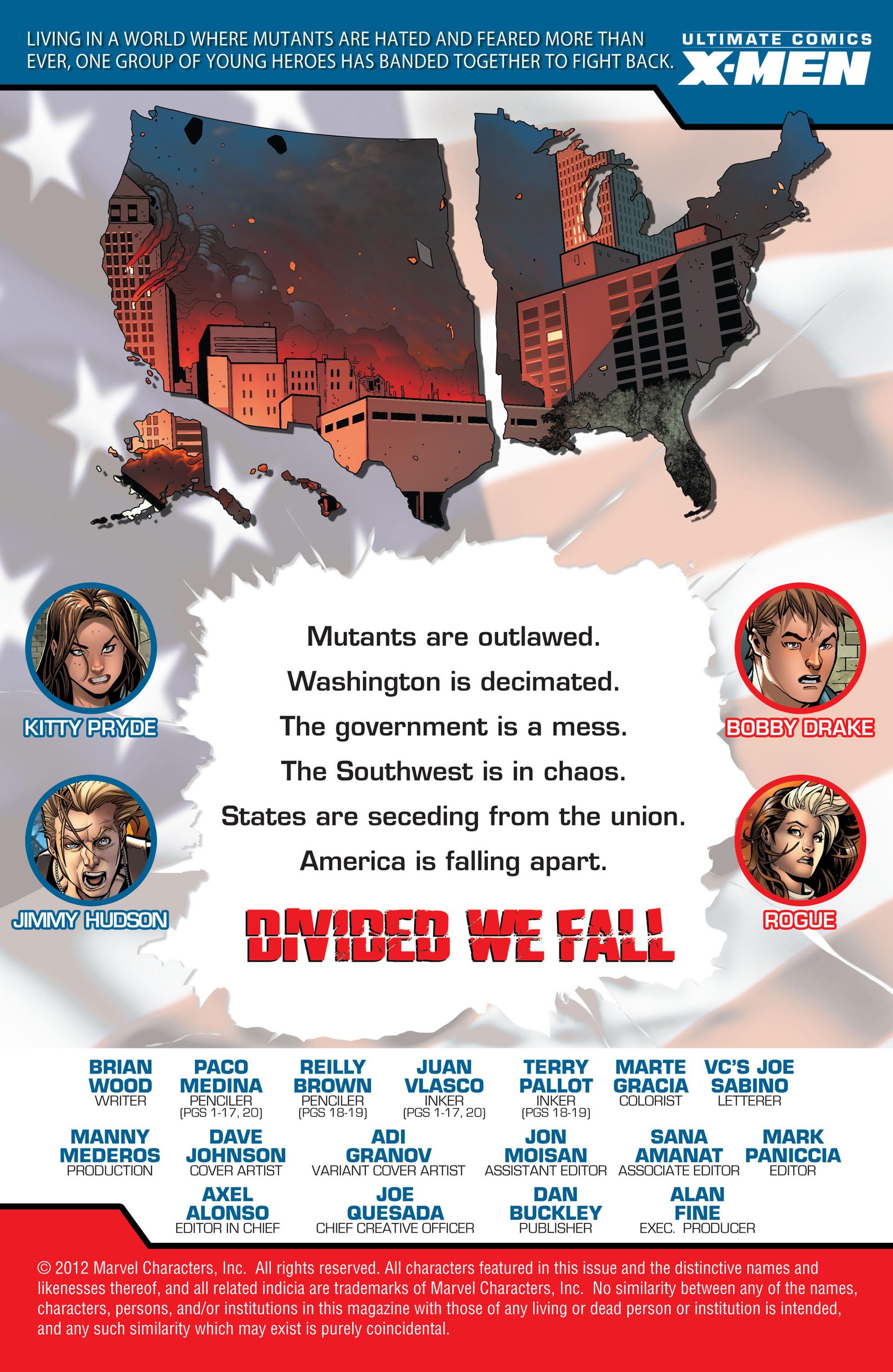 Read online Ultimate Comics X-Men comic -  Issue #14 - 2