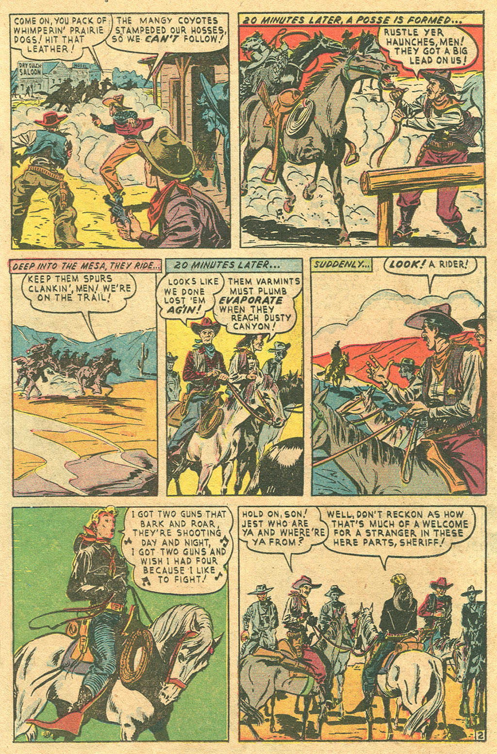 Read online Two-Gun Kid comic -  Issue #1 - 23