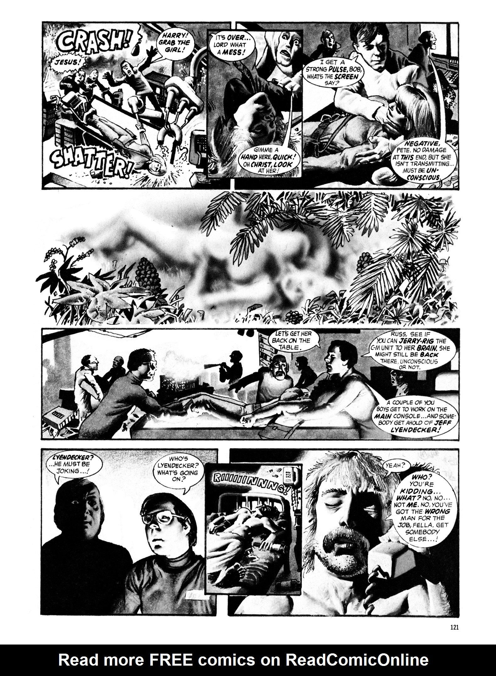 Read online Eerie Archives comic -  Issue # TPB 16 - 122