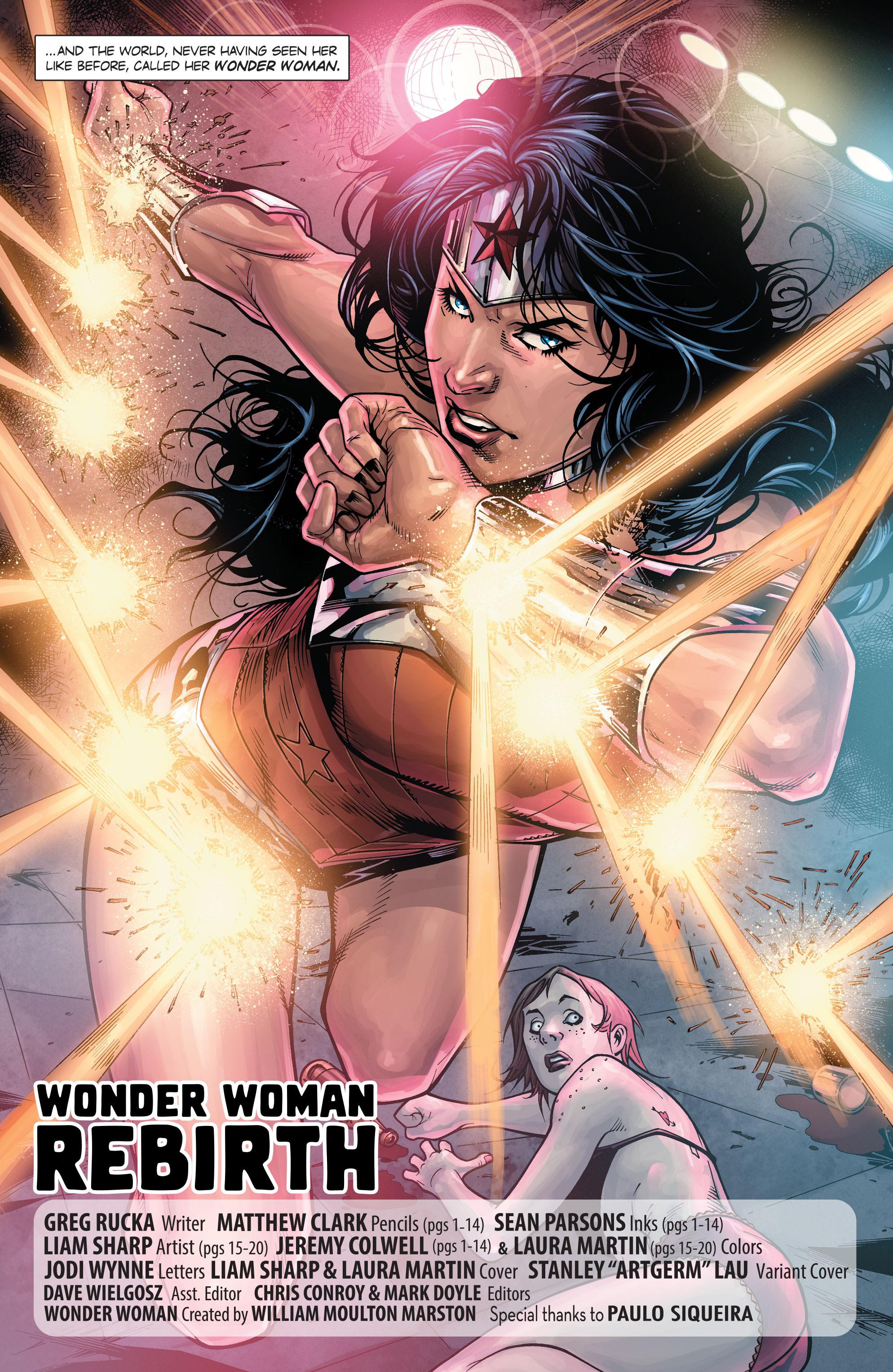 Read online Wonder Woman: Rebirth comic -  Issue # Full - 5