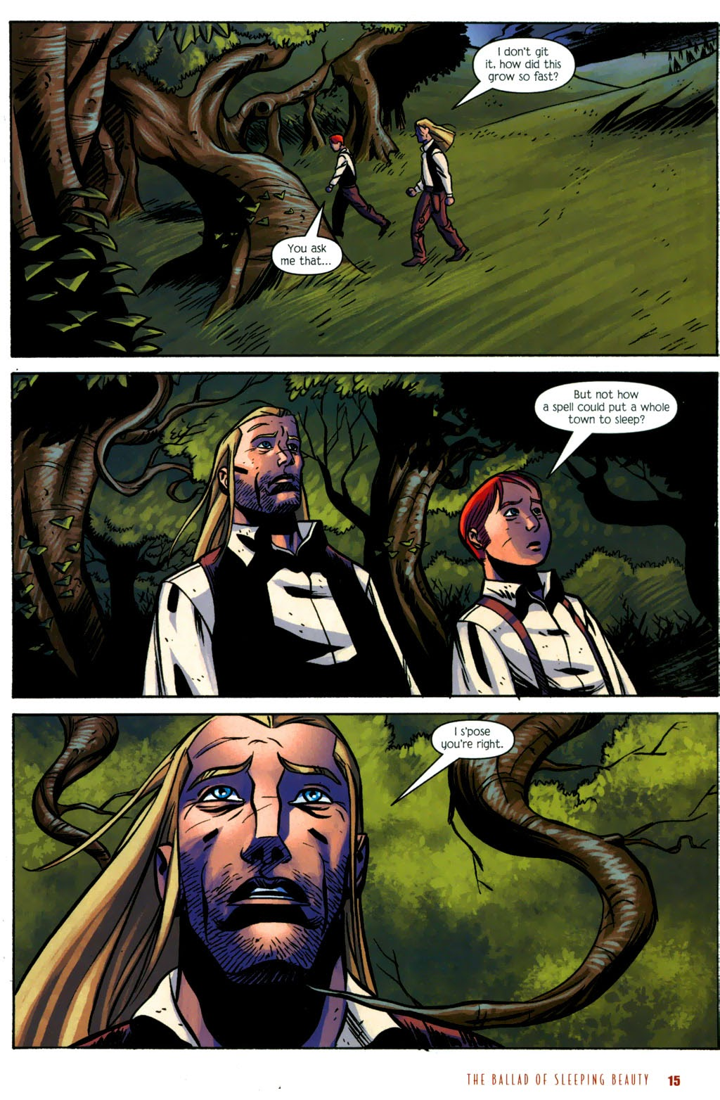 Read online The Ballad of Sleeping Beauty comic -  Issue #6 - 17
