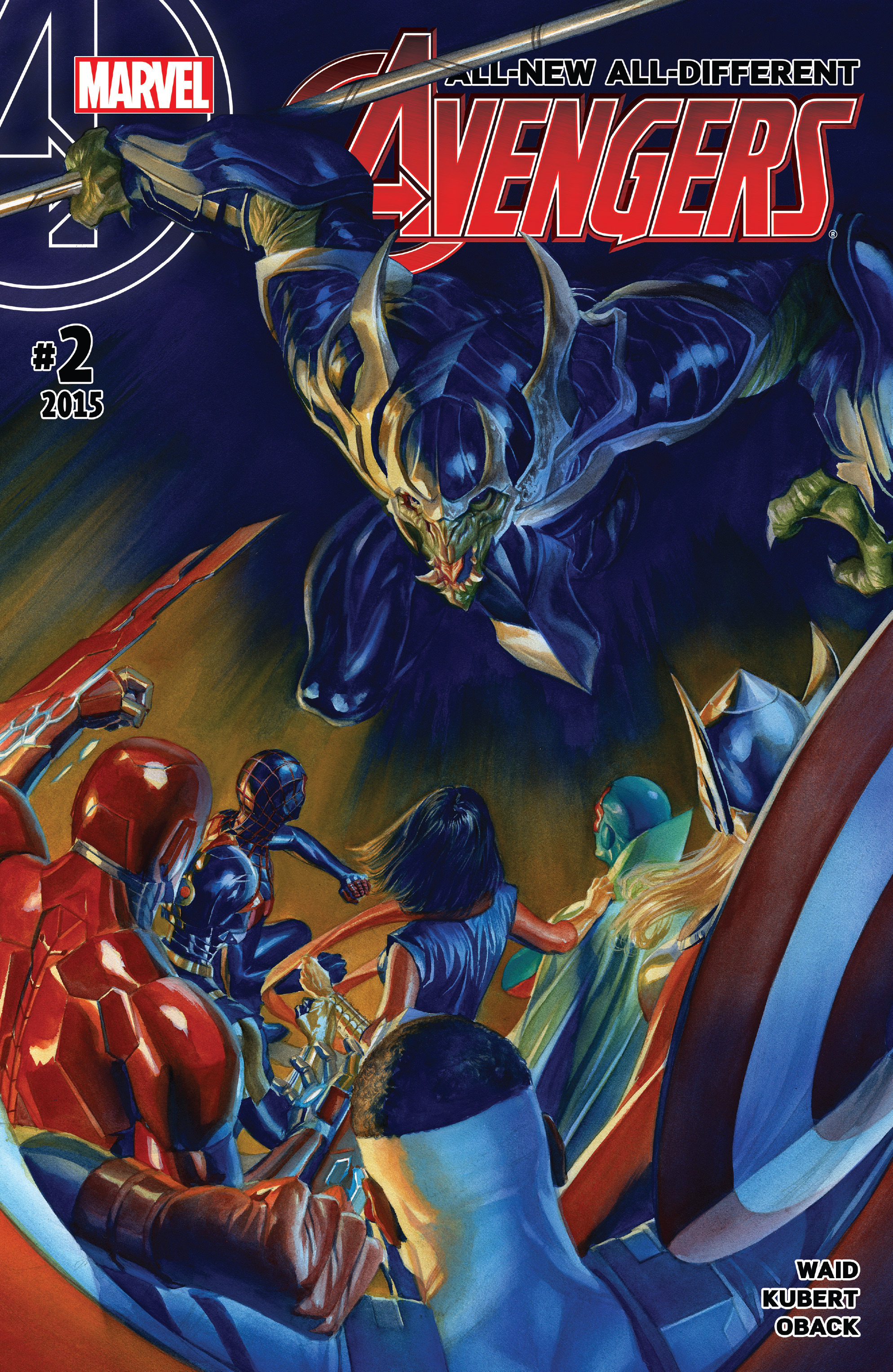Read online All-New, All-Different Avengers comic -  Issue #2 - 1