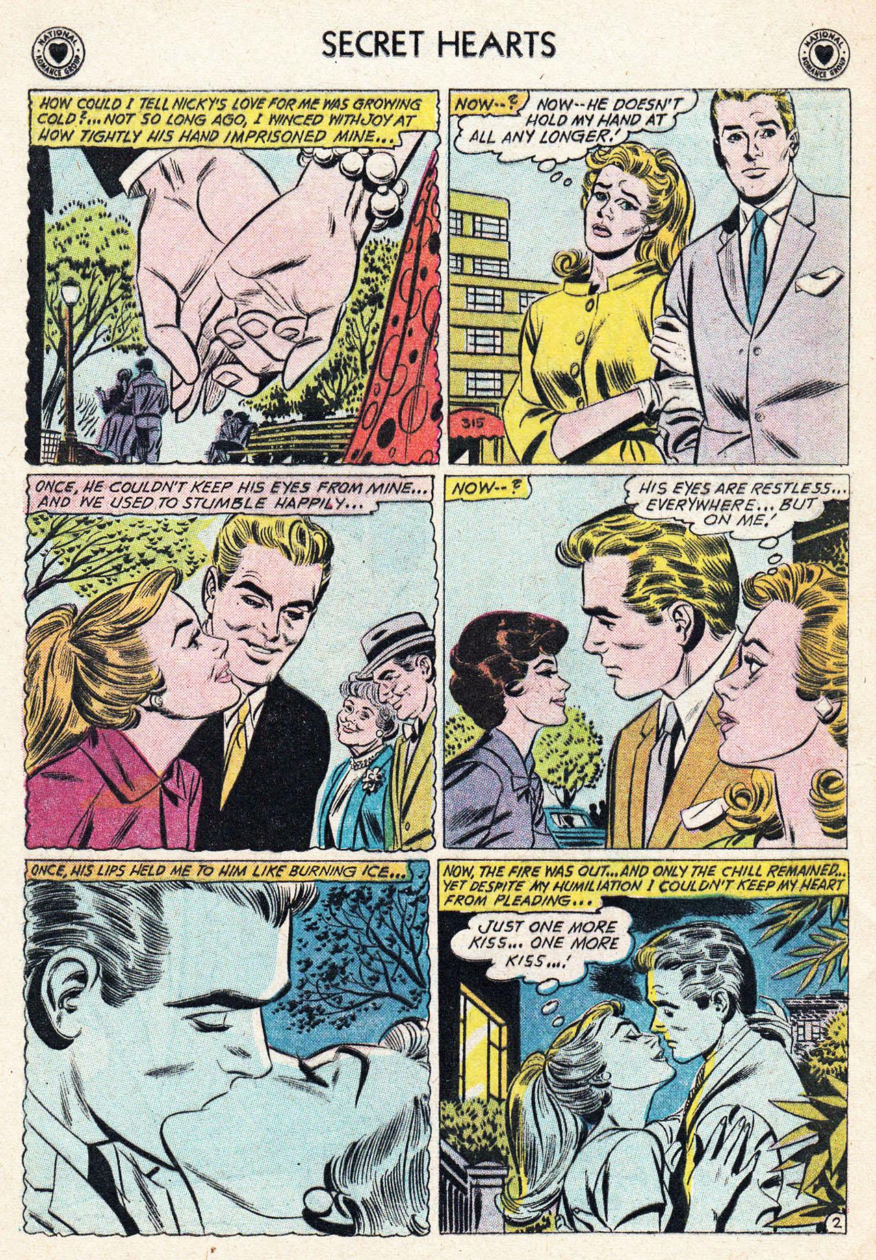 Read online Secret Hearts comic -  Issue #75 - 28