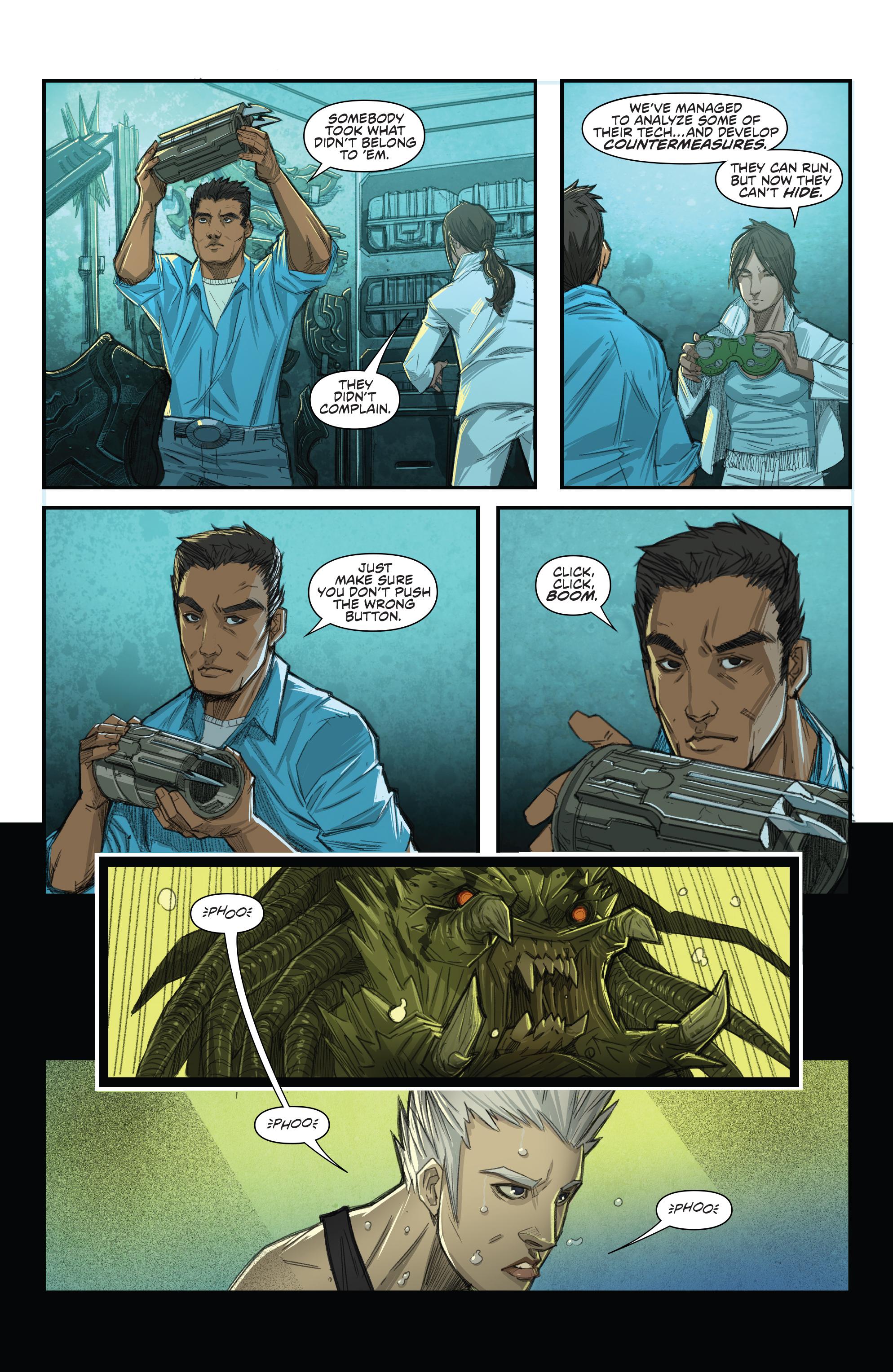 Read online Predator: Hunters comic -  Issue #2 - 17