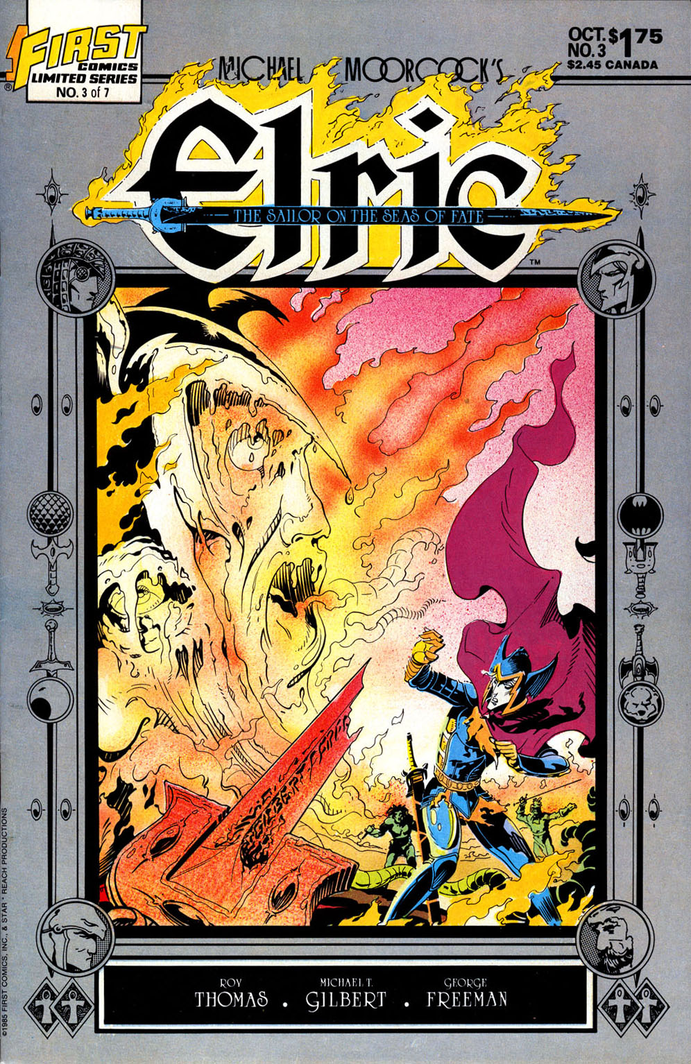 Read online Elric: Sailor on the Seas of Fate comic -  Issue #3 - 1