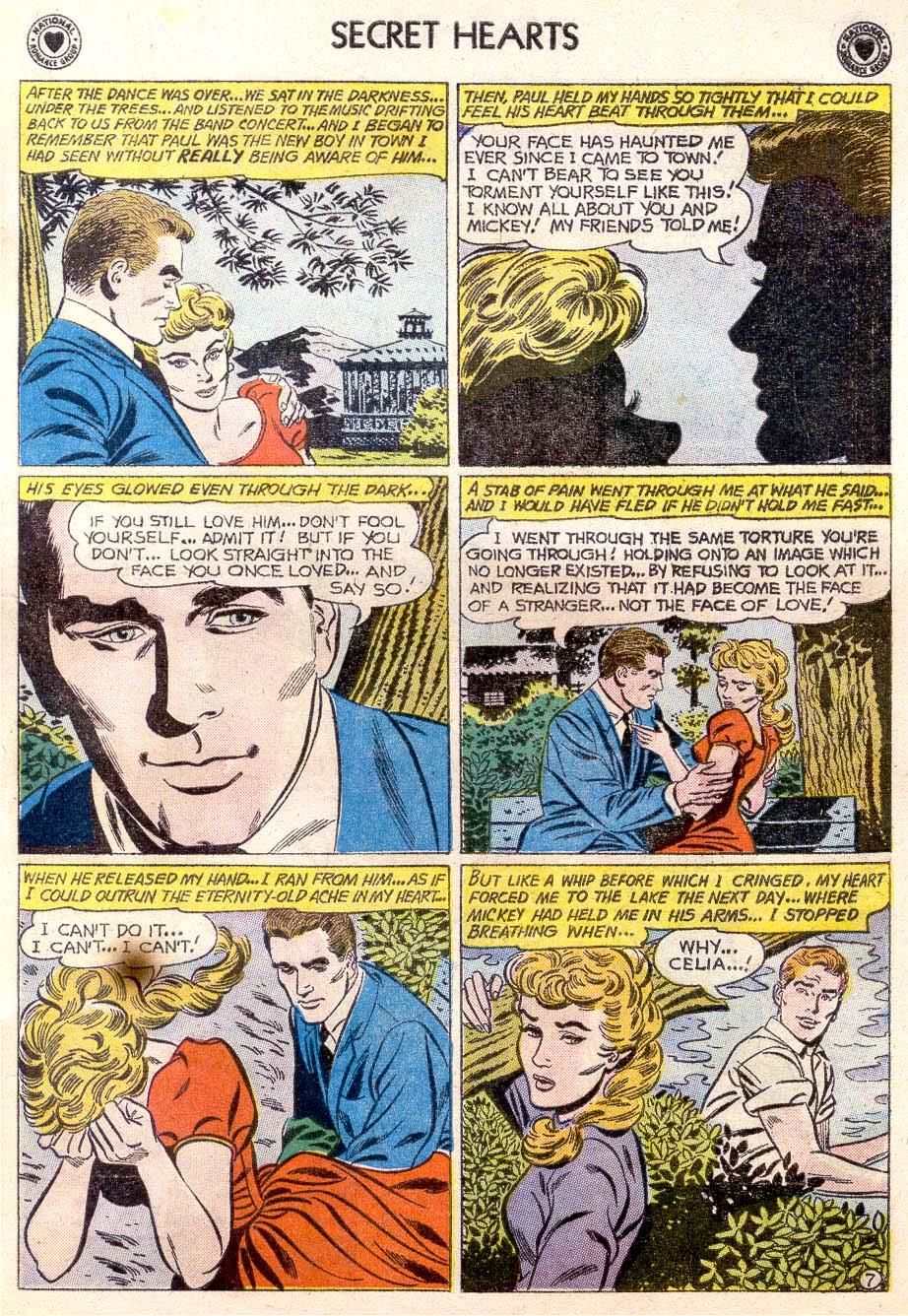 Read online Secret Hearts comic -  Issue #65 - 32