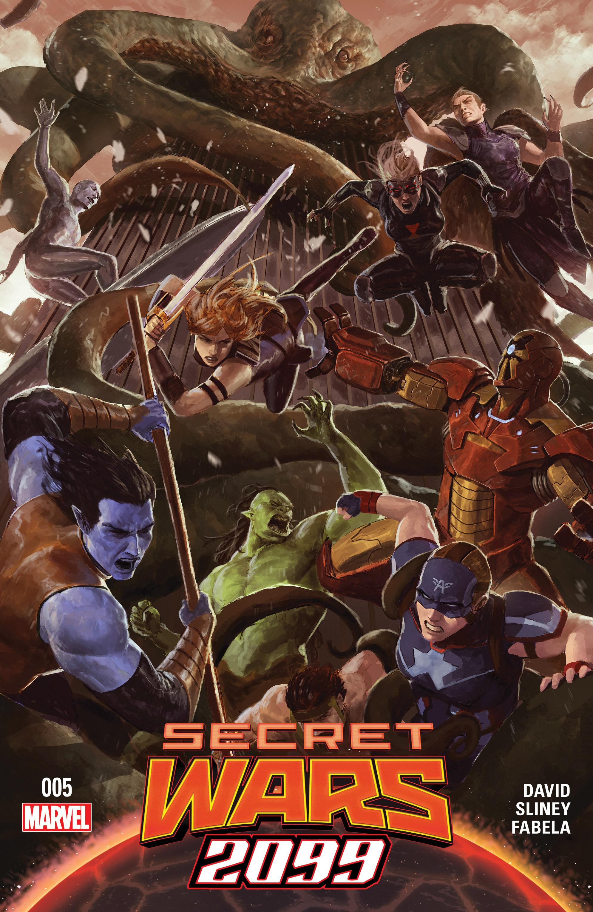 Read online Secret Wars 2099 comic -  Issue #5 - 1