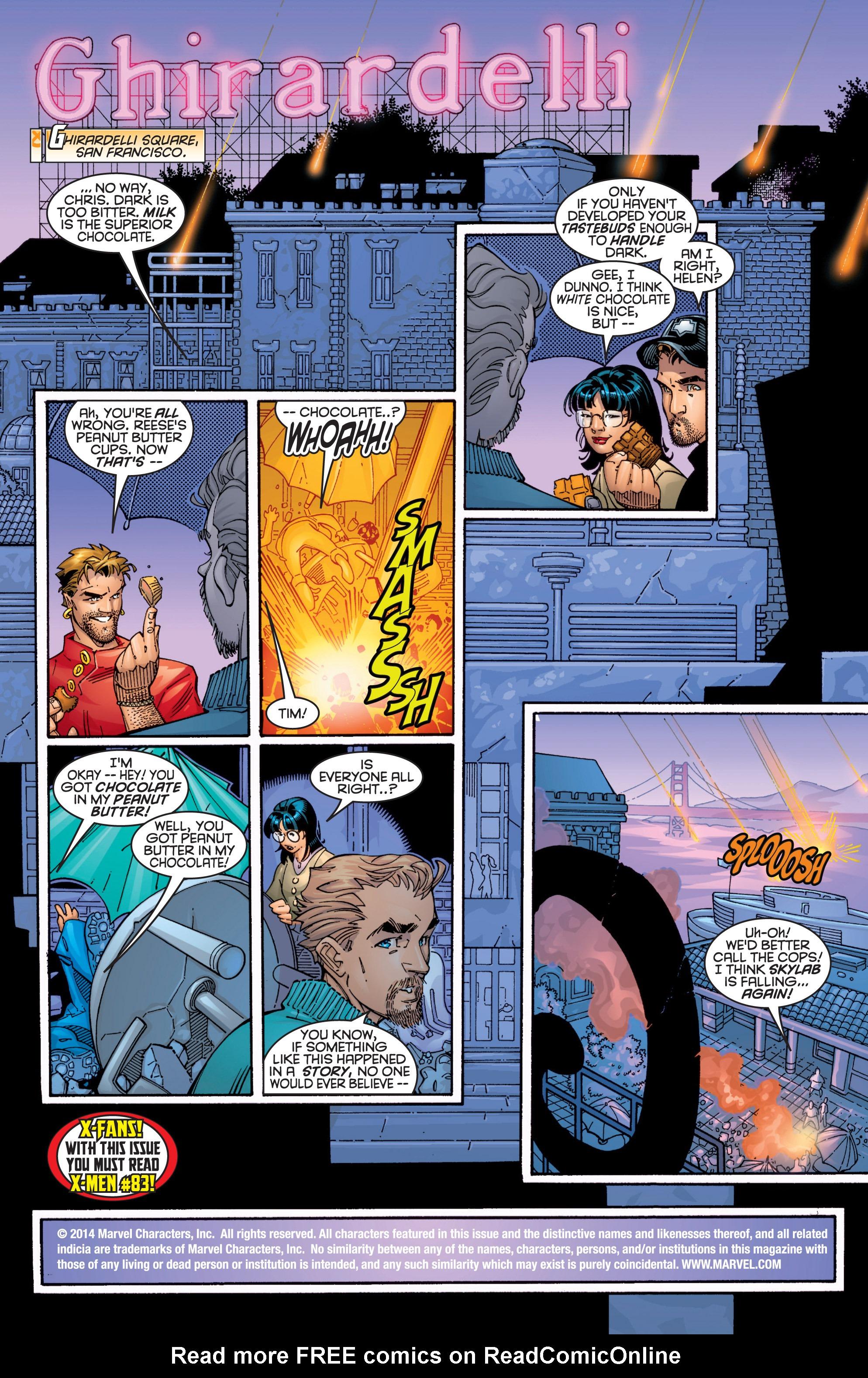 Read online Uncanny X-Men (1963) comic -  Issue #363 - 2