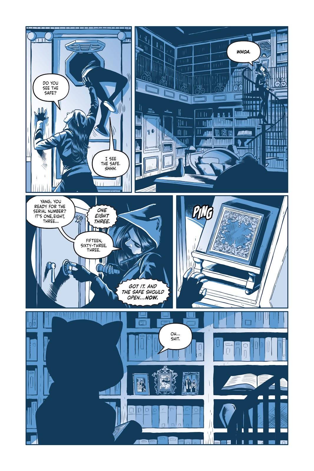 Read online Under the Moon: A Catwoman Tale comic -  Issue # TPB (Part 2) - 47