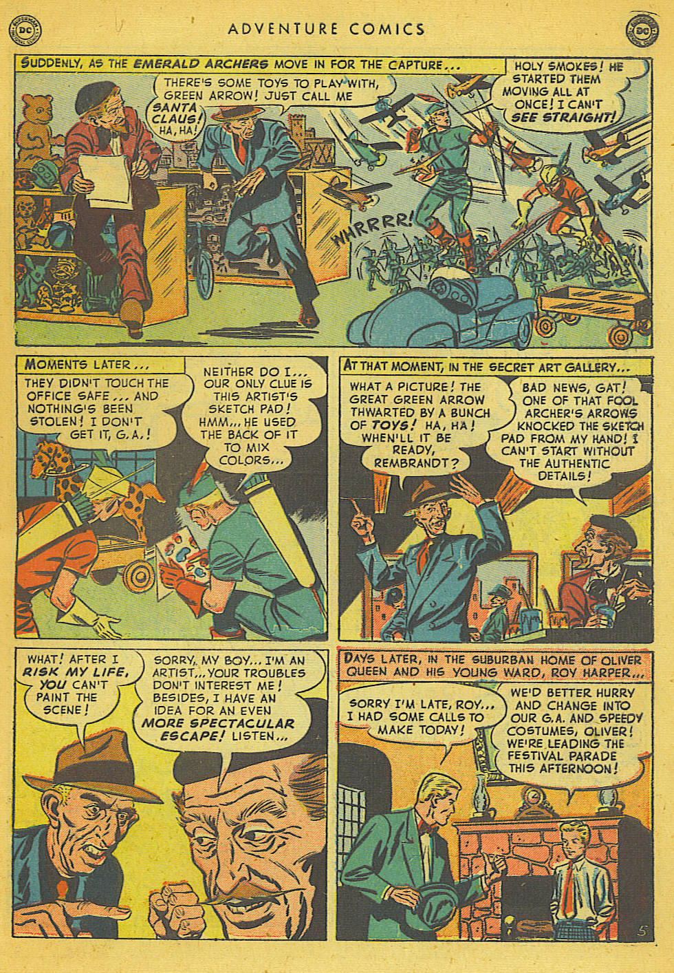 Read online Adventure Comics (1938) comic -  Issue #153 - 44