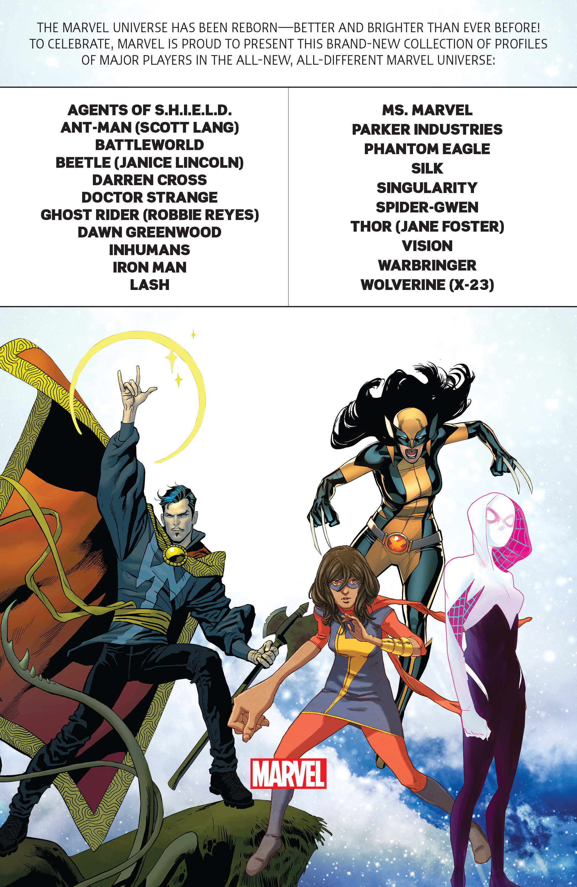 Read online All-New, All Different Marvel Universe comic -  Issue # Full - 34