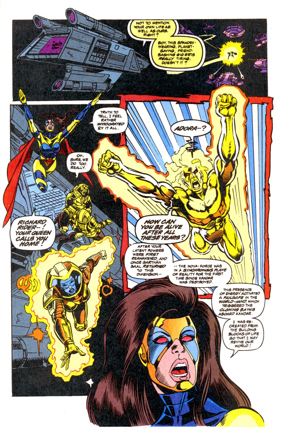 The New Warriors Issue #42 #46 - English 19