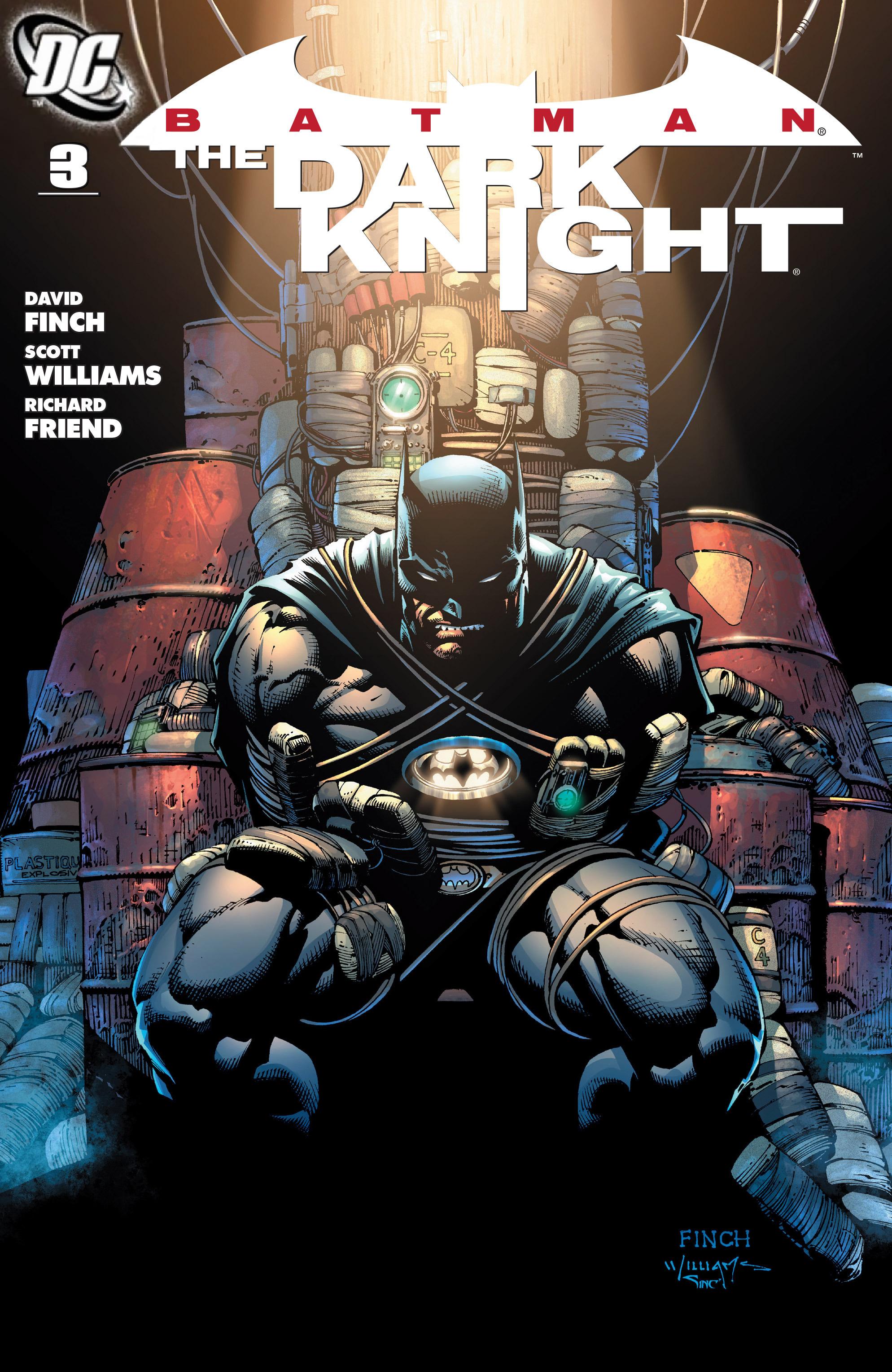 Batman: The Dark Knight [I] (2011) 3 Page 1