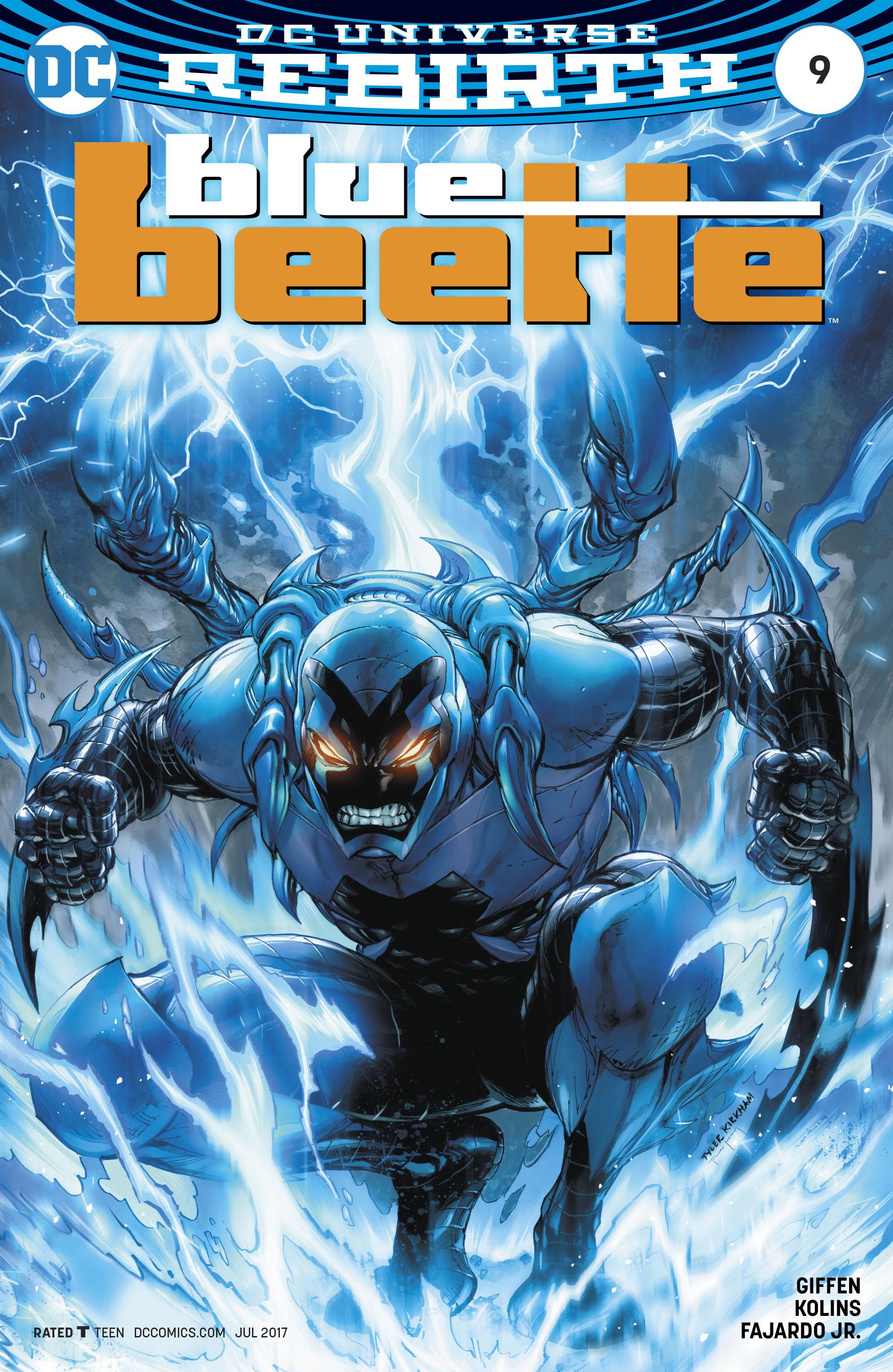 Read online Blue Beetle (2016) comic -  Issue #9 - 3