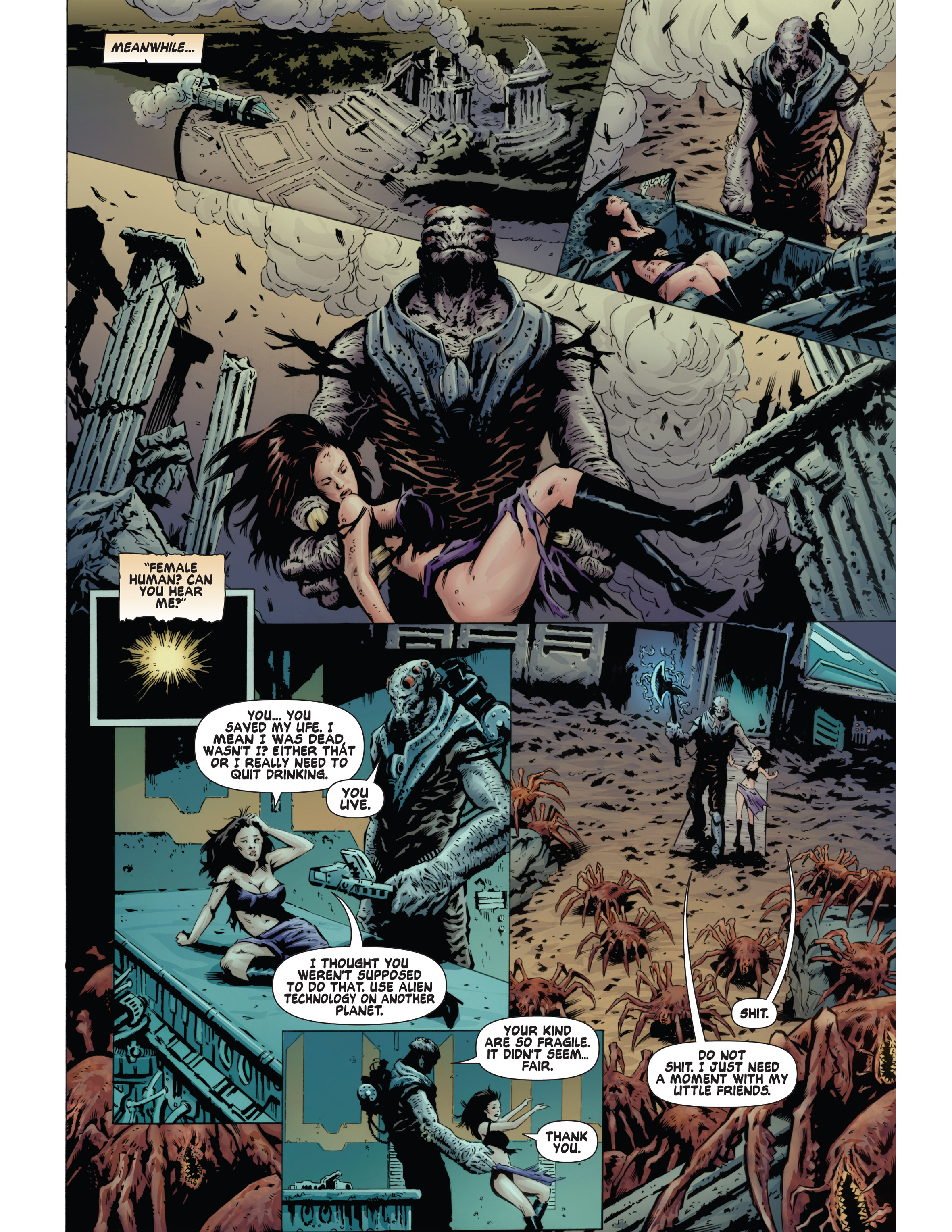 Read online Bad Planet comic -  Issue # TPB - 126