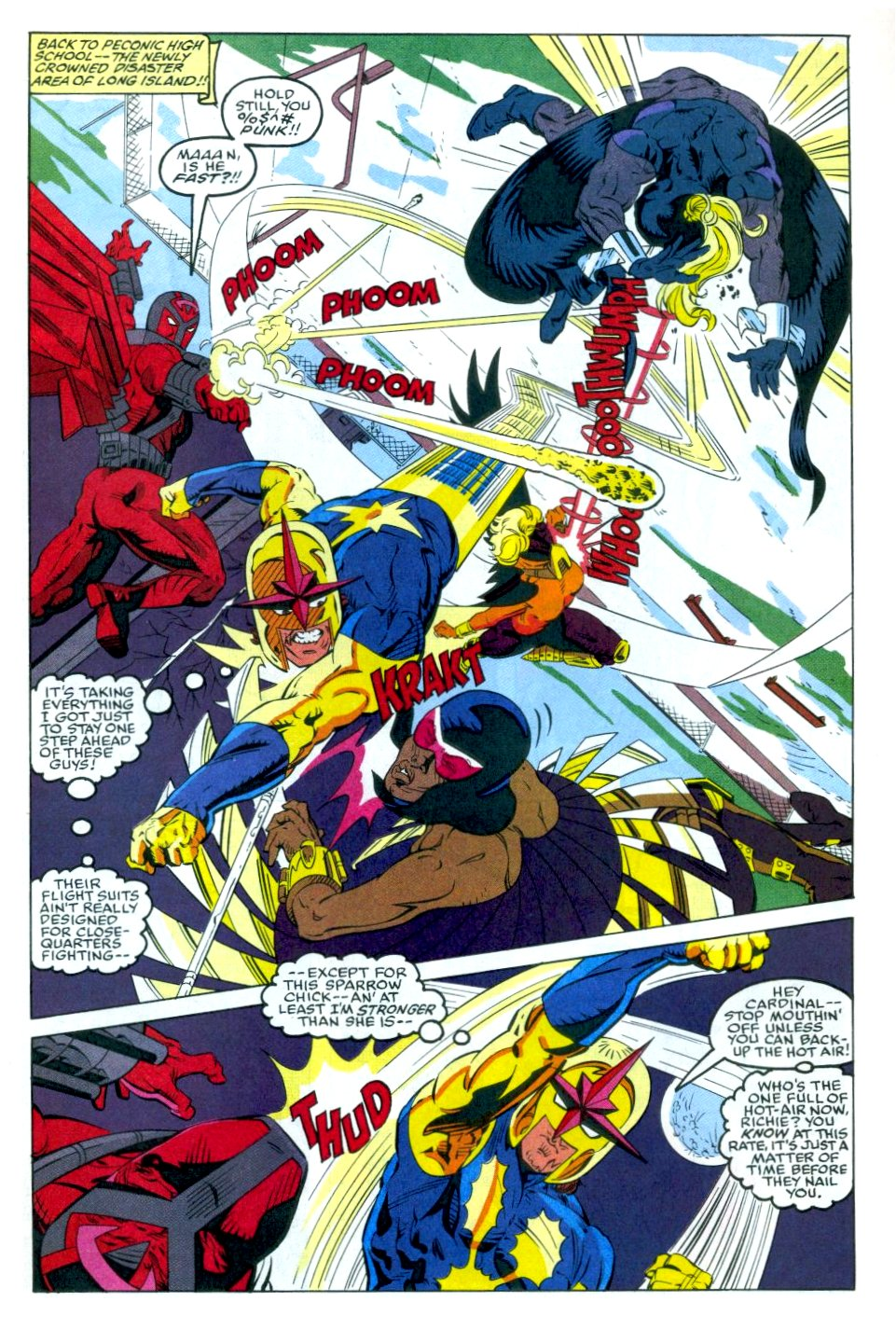 The New Warriors Issue #35 #39 - English 14