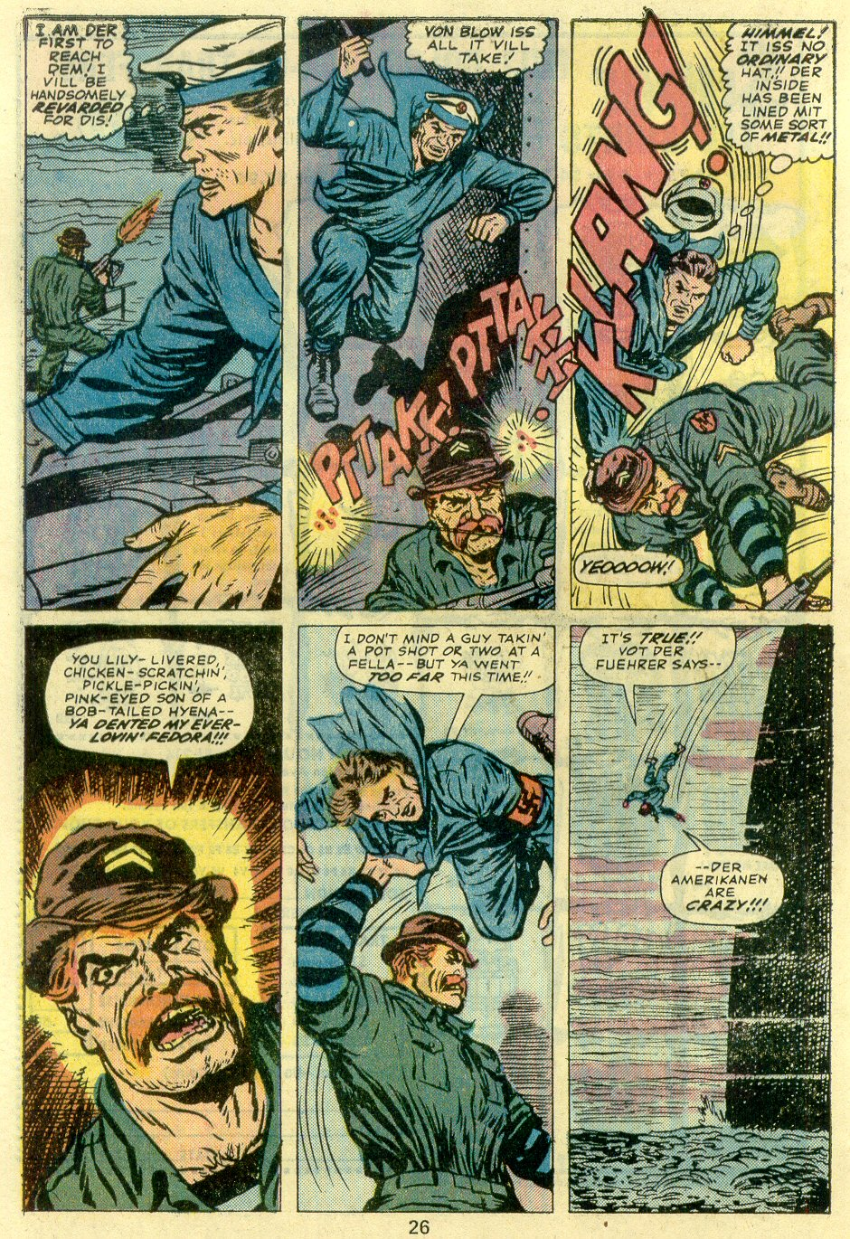 Read online Sgt. Fury comic -  Issue #128 - 28