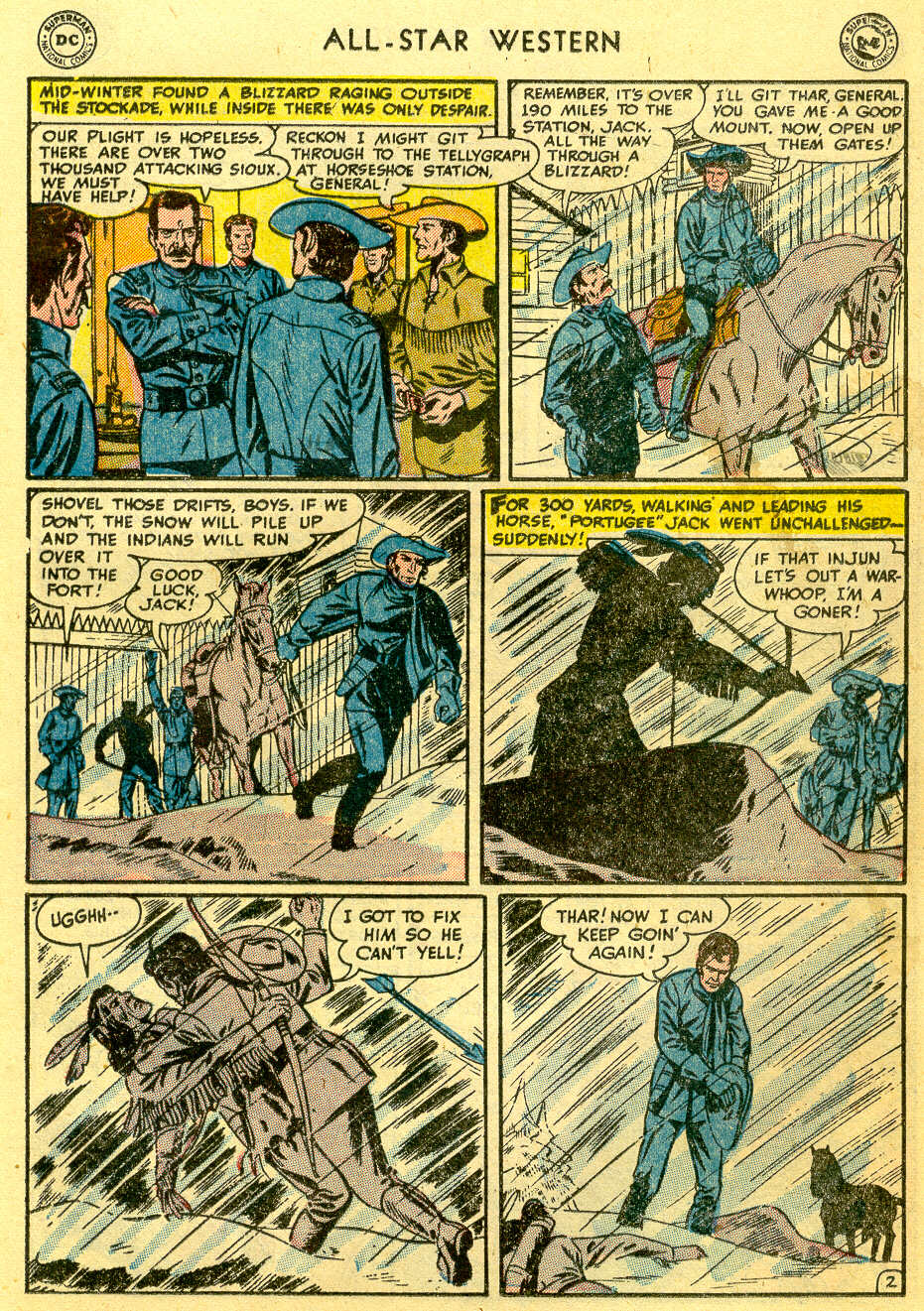 Read online All-Star Western (1951) comic -  Issue #82 - 17