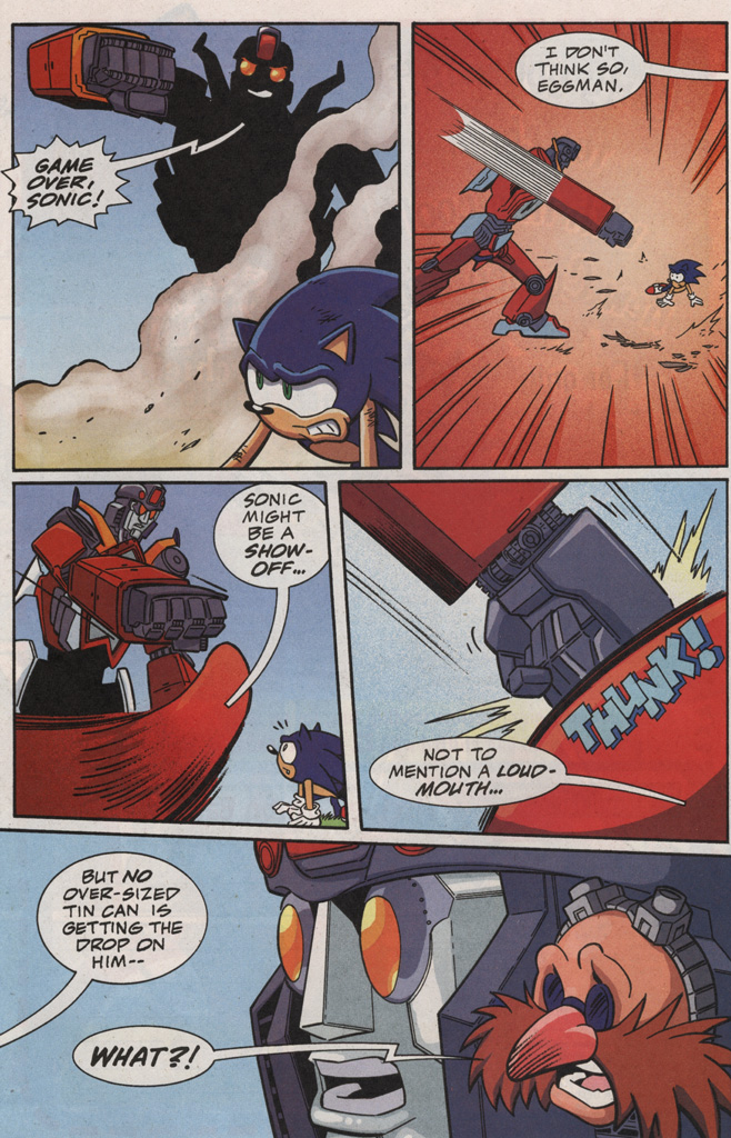 Read online Sonic X comic -  Issue #20 - 26
