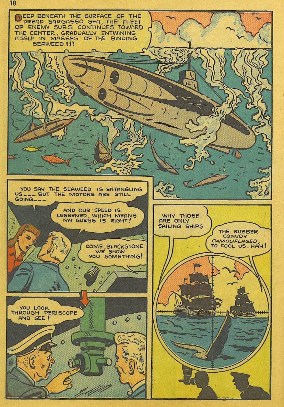 Read online Super-Magician Comics comic -  Issue #10 - 18