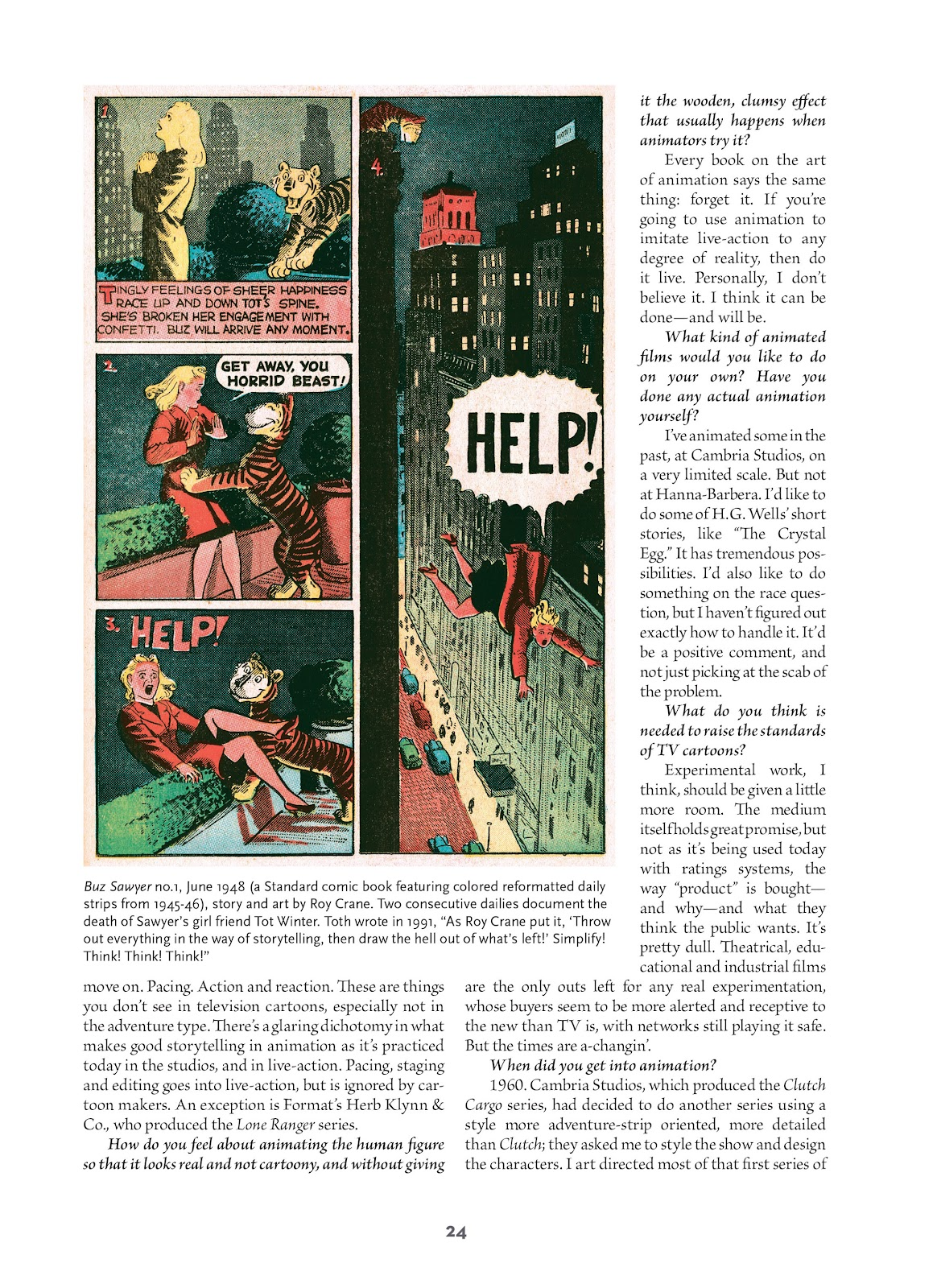 Read online Setting the Standard: Comics by Alex Toth 1952-1954 comic -  Issue # TPB (Part 1) - 23
