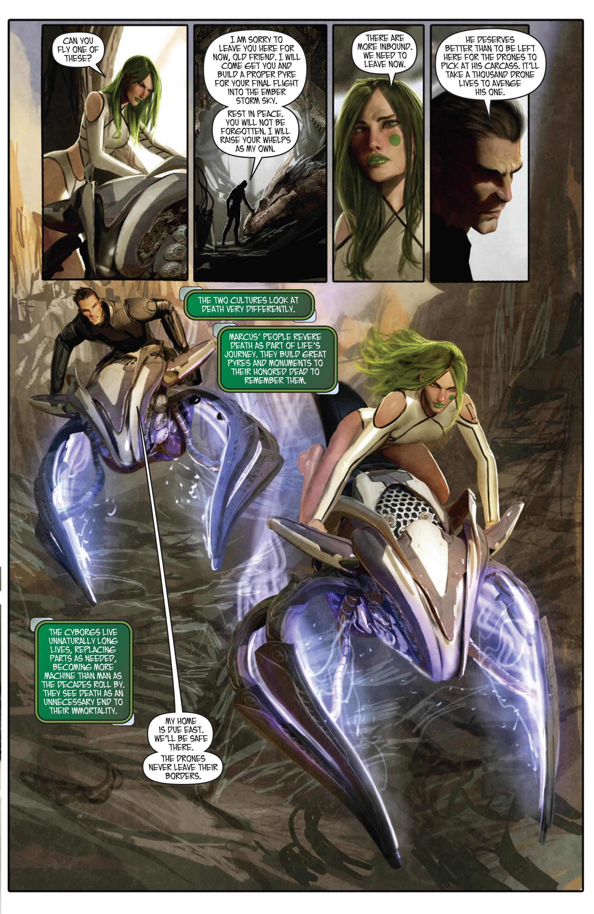 Read online Aphrodite IX (2013) comic -  Issue #Aphrodite IX (2013) _TPB 1 - 19