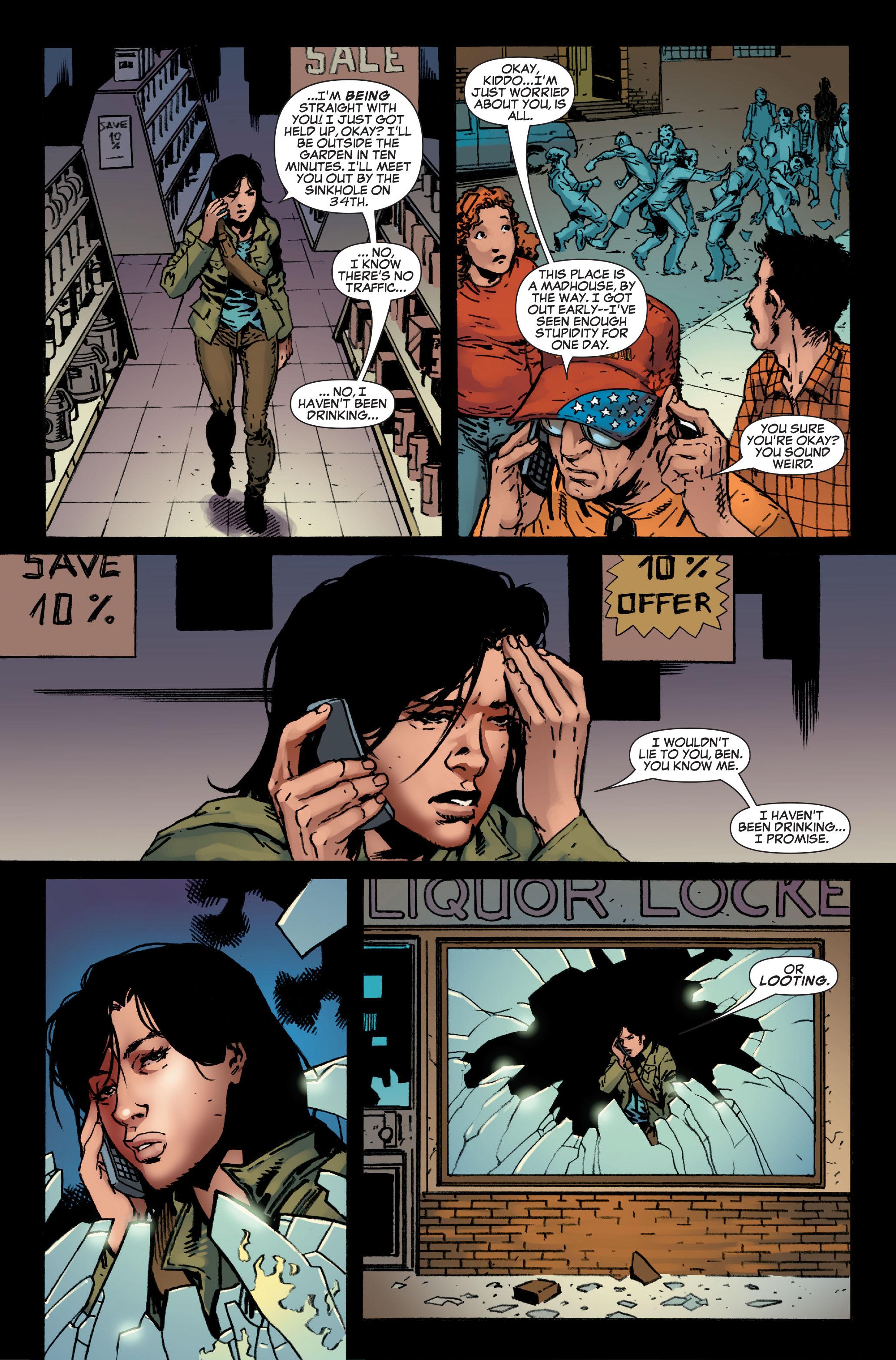 Read online World War Hulk: Front Line comic -  Issue #5 - 9