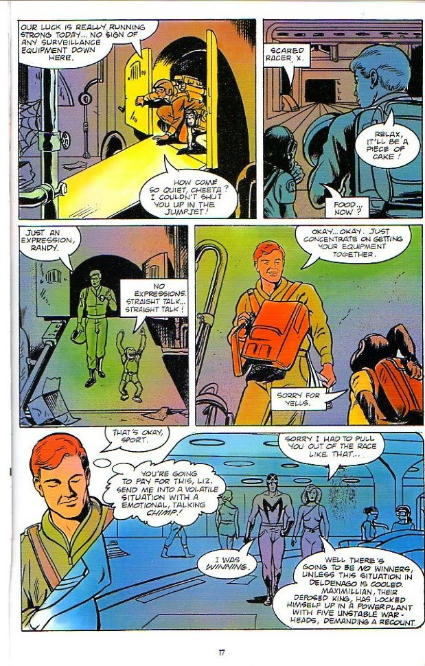 Racer X (1988) issue 1 - Page 11