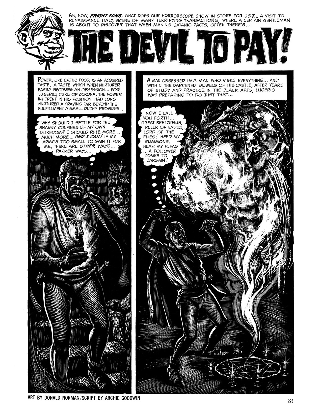 Read online Eerie Archives comic -  Issue # TPB 4 - 223