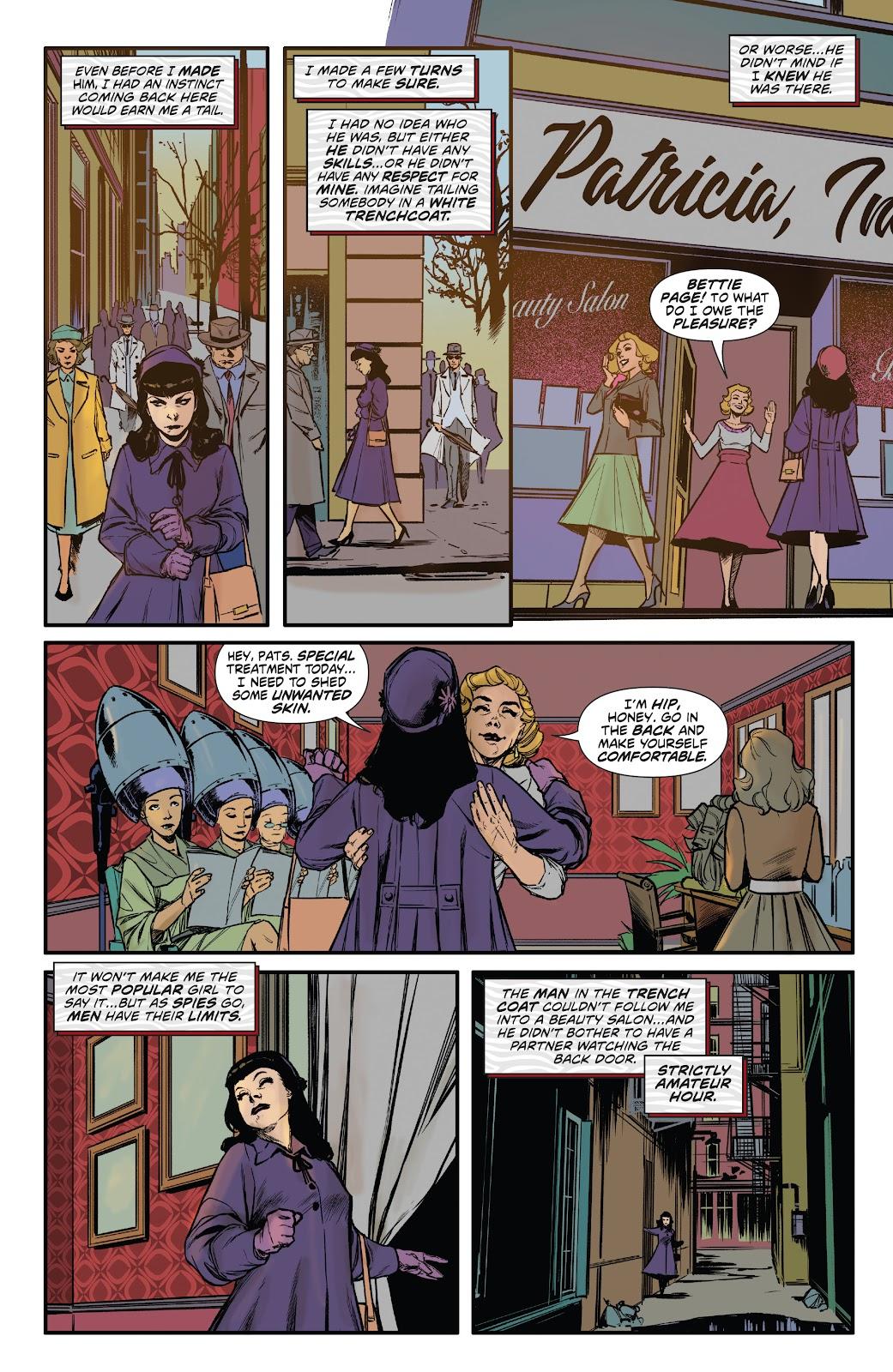Read online Bettie Page: Unbound comic -  Issue #6 - 15