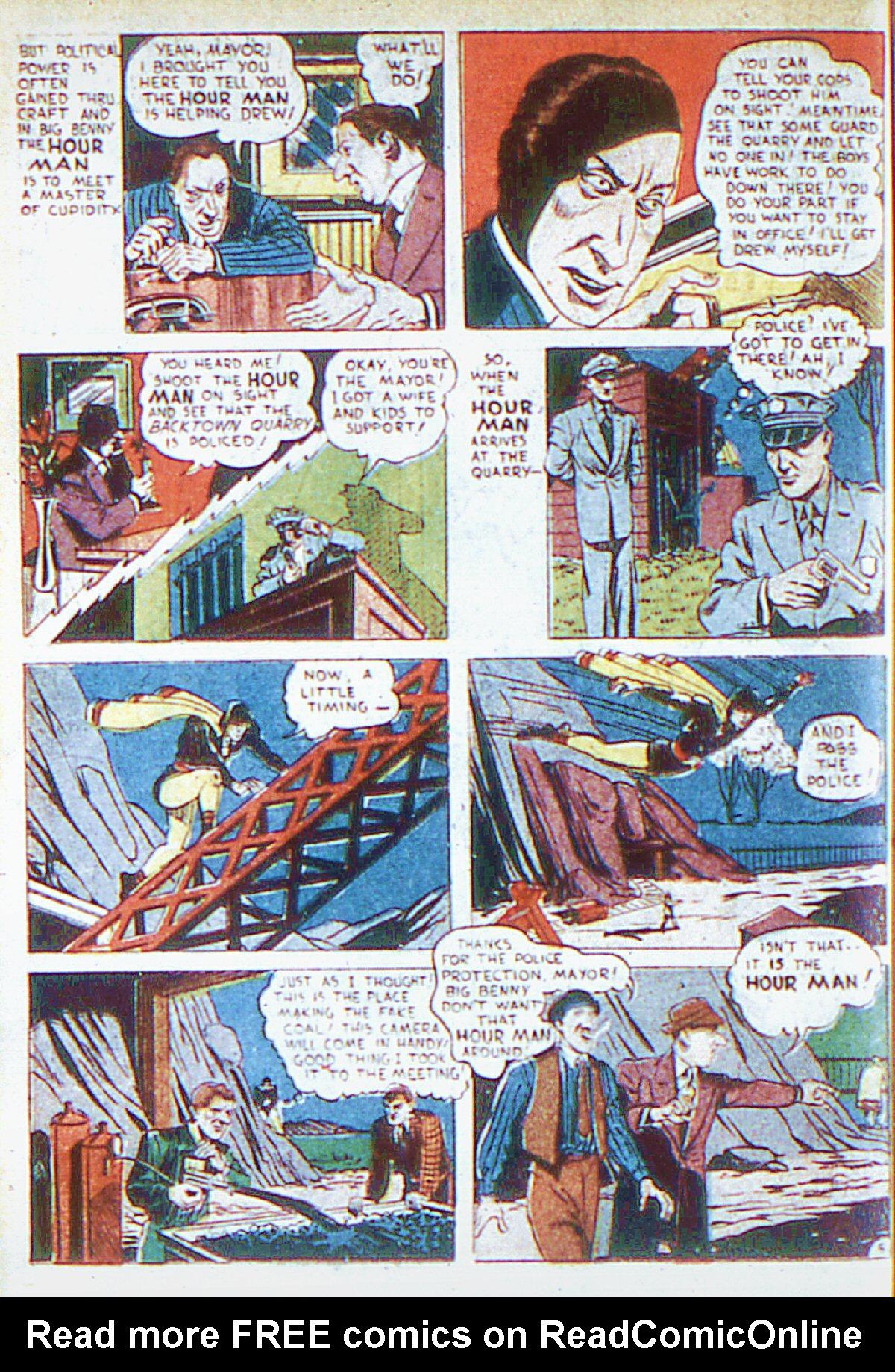 Read online Adventure Comics (1938) comic -  Issue #66 - 35
