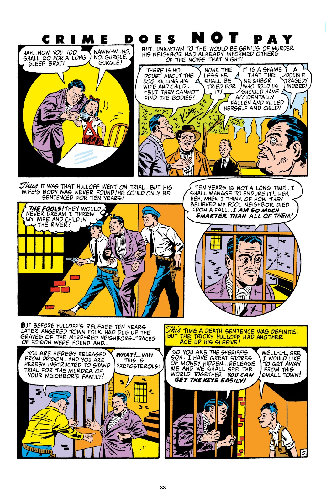 Read online Crime Does Not Pay Archives comic -  Issue # TPB 4 (Part 1) - 88