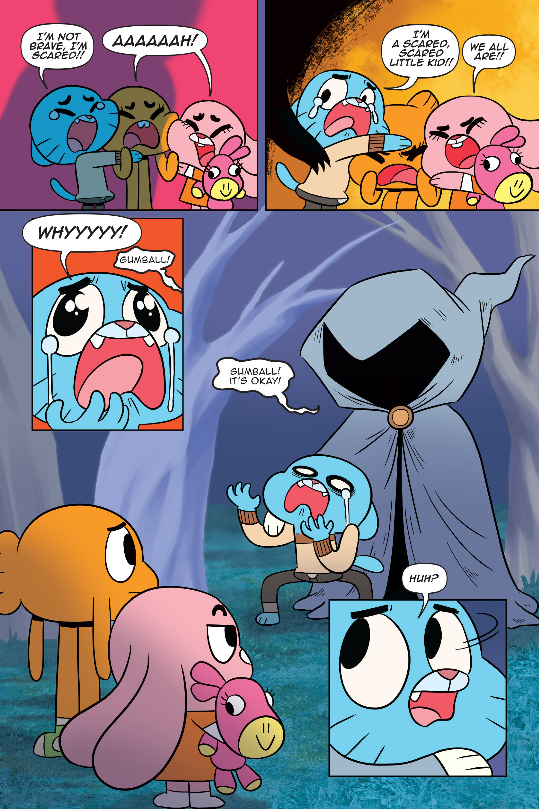 Read online The Amazing World of Gumball: Fairy Tale Trouble comic -  Issue # Full - 41