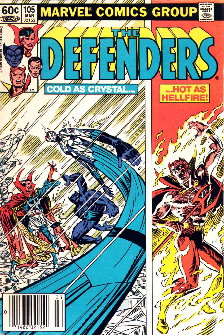 The Defenders (1972) issue 105 - Page 1