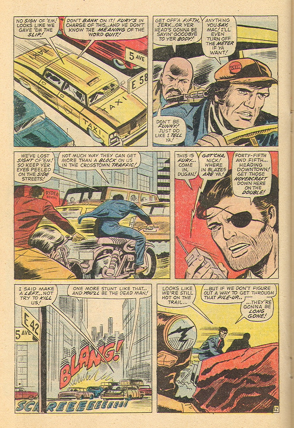Read online Sgt. Fury comic -  Issue #100 - 19