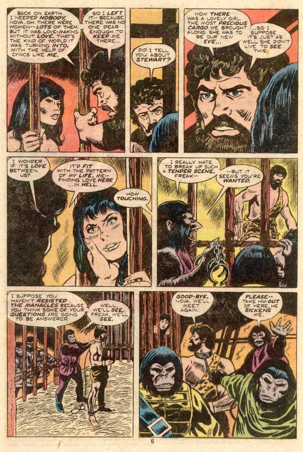 Read online Adventures on the Planet of the Apes comic -  Issue #4 - 5