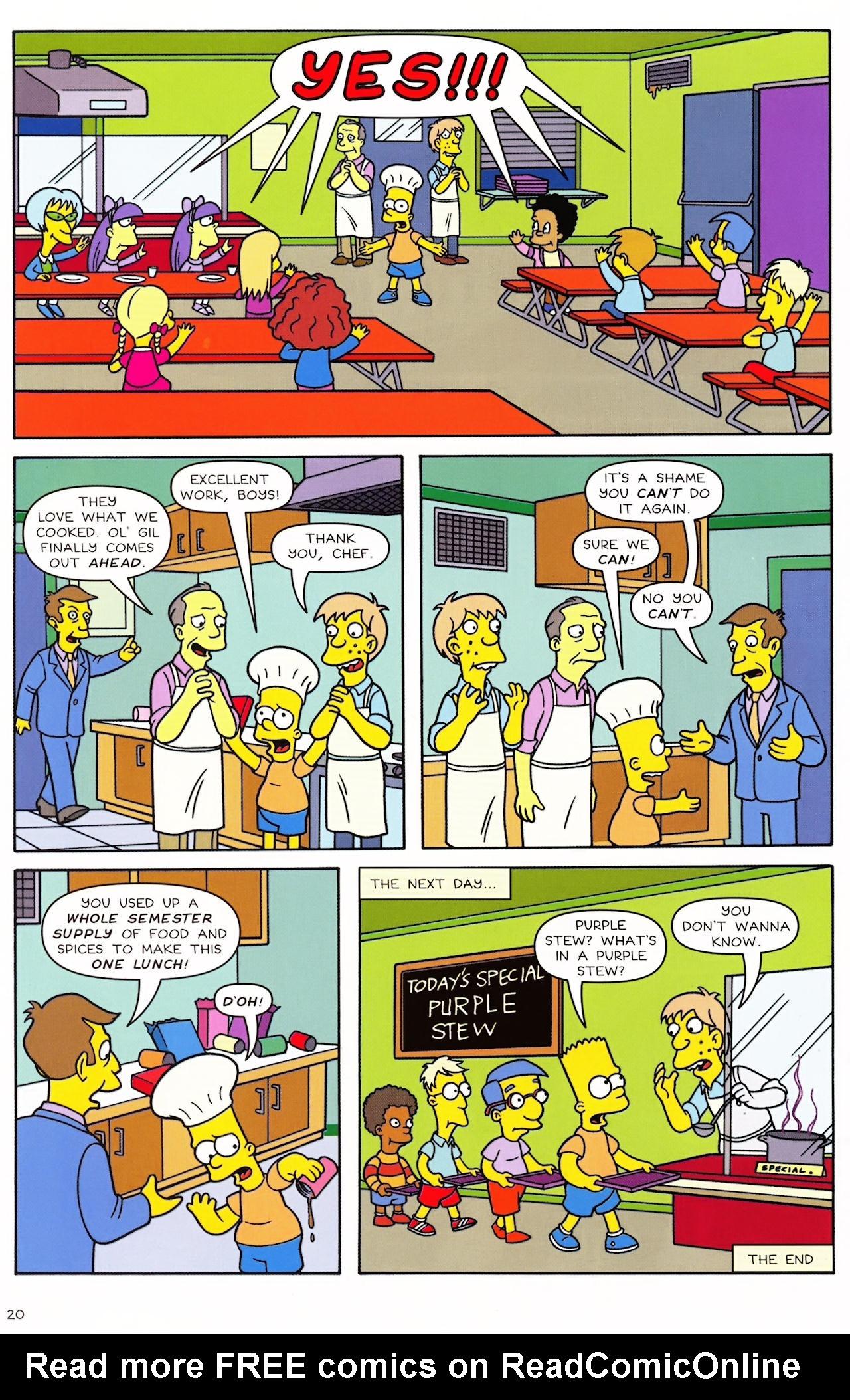 Read online Simpsons Comics Presents Bart Simpson comic -  Issue #46 - 22