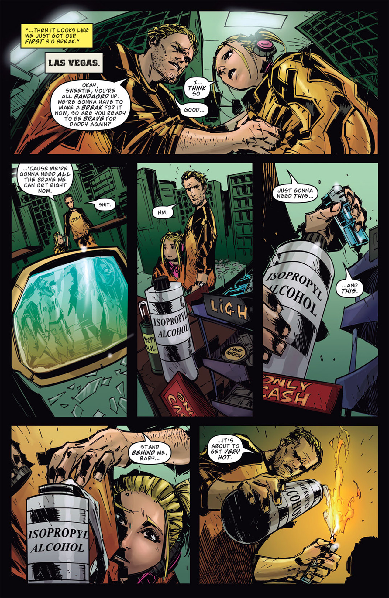Read online Dead Rising: Road to Fortune comic -  Issue # TPB - 94