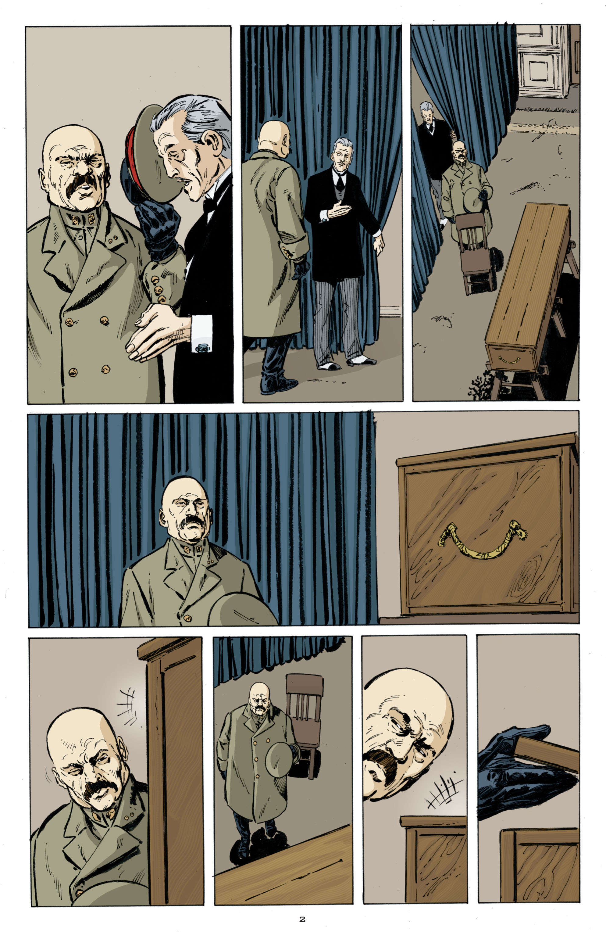 Read online Cold War comic -  Issue # TPB - 10